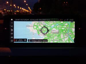 Обновление карт навигации БМВ