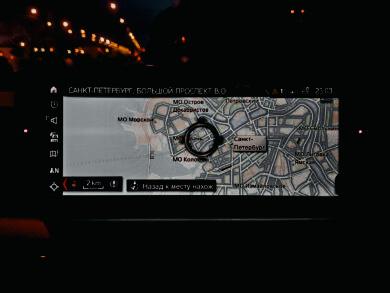 Обновление карт навигации на BMW